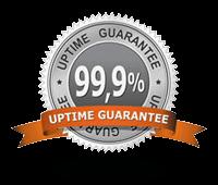 99.9% Uptime Network Guarantee
