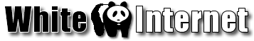 White Internet Logo